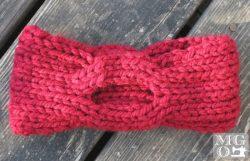 knitted earwarmer