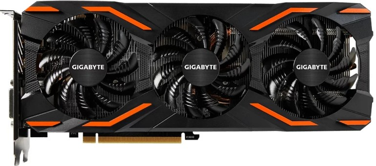 1. Gigabyte GeForce GTX 1080 WINDFORCE OC 8G