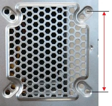 Determine Computer Fan Size