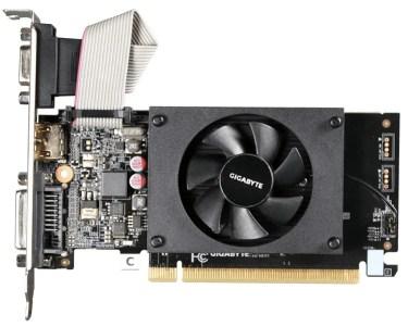 Best Low Profile Graphics Cards Under 100: Gigabyte GeForce GT 710 GV-N710D3-2GL
