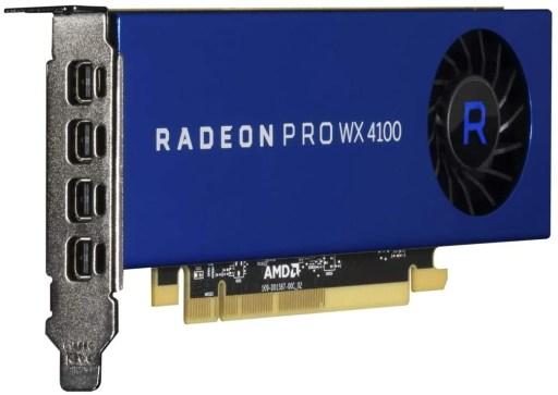 AMD Radeon Pro WX 4100 4GB DDR5 Graphics Card