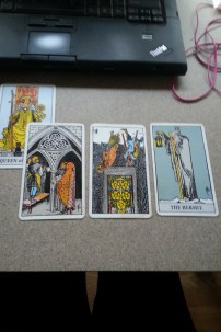 today's tarot spread