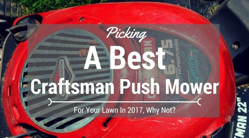 best-Craftsman-push-mower