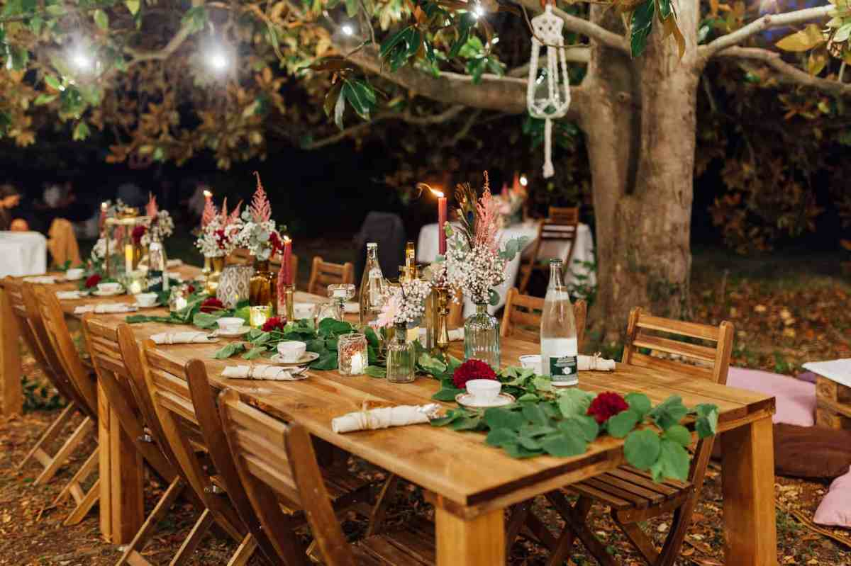 Decoration table mariage exterieur My Green Event