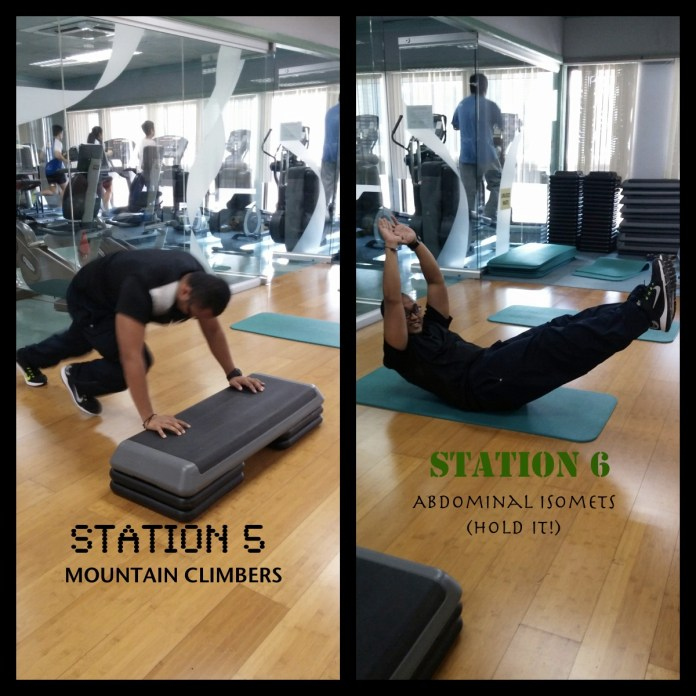 stations 5 and 6
