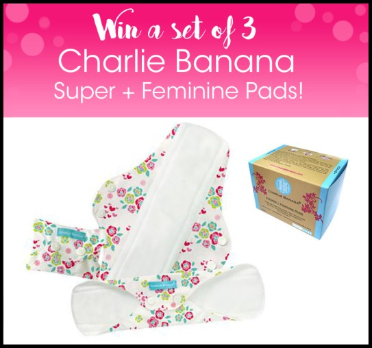 Postpartum Cloth Pads - Charlie Banana Giveaway!