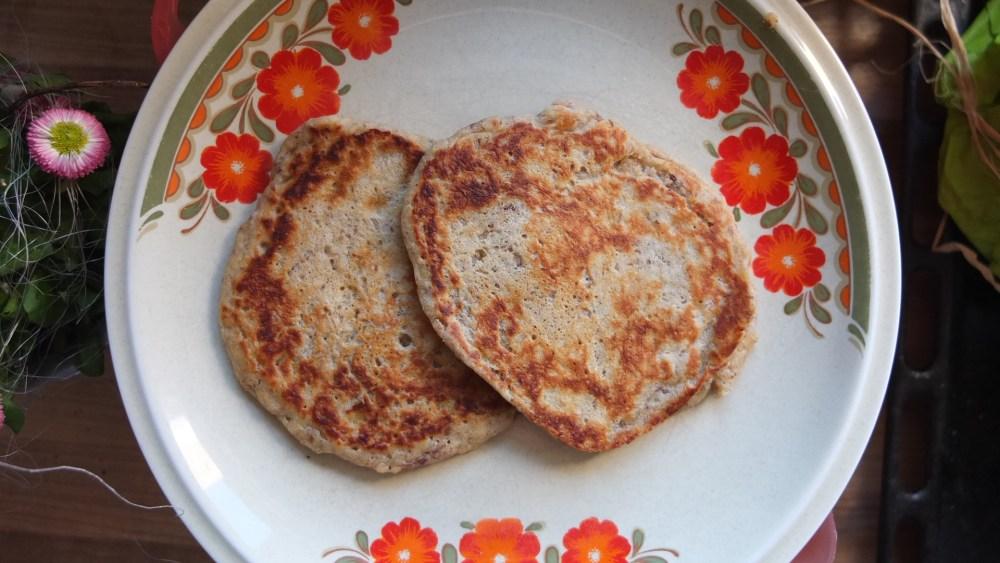 Banana Spelt Pancakes (1/3)
