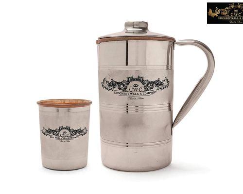 Set of silver Glasses - Griha Pravesh Gift Item Idea