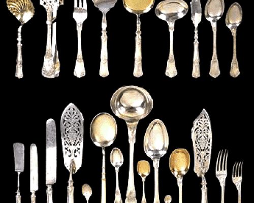Silver Cutlery - Griha Pravesh Expensive Gift Item Ideas