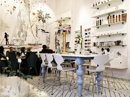 royal smushi cafe inside - royalsmushicafe dk