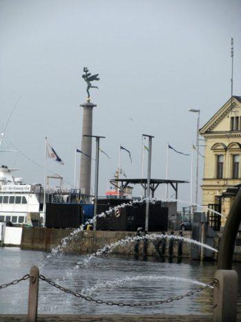 Helsingborg harbor