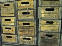 dairy wooden cases