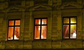 trio of windows