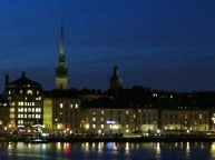stockholm - evening lights
