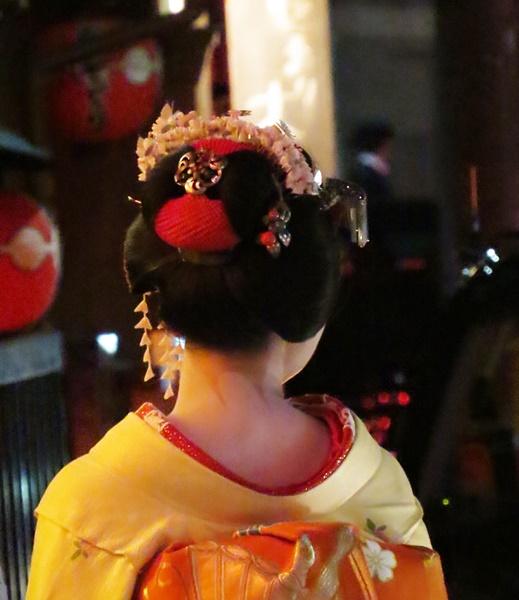 beautiful neck, Kyoto