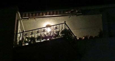 night balcony