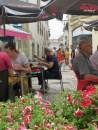 aveiro - enjoying lunch