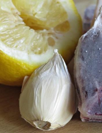 garlic and lemon