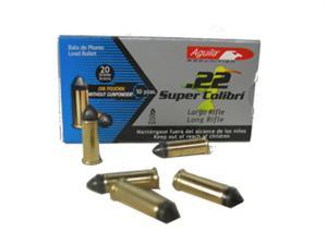 Aguila 22 super colibri ammunition