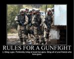 Rules for a gunfight…