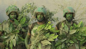 Saudi Special Forces Fieldcraft Ghillie Suits