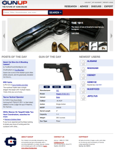 GunUp.com the future of guns online