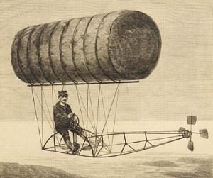 Charles Ritchel Flying Machine