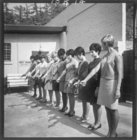 Women shooting guns