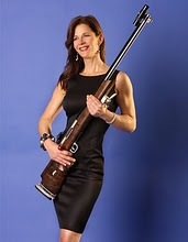 Anette Wachter - .30 Cal Gal with her Jim Cloward Special