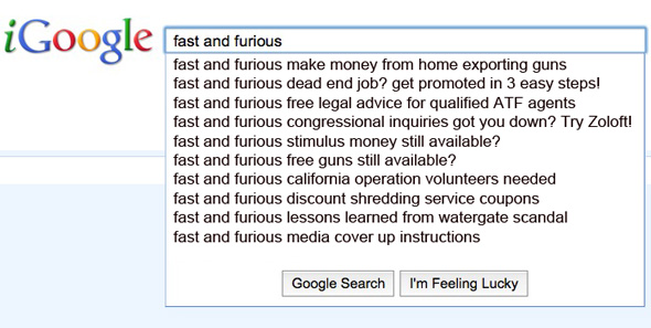 ATF Operation Fast and Furious