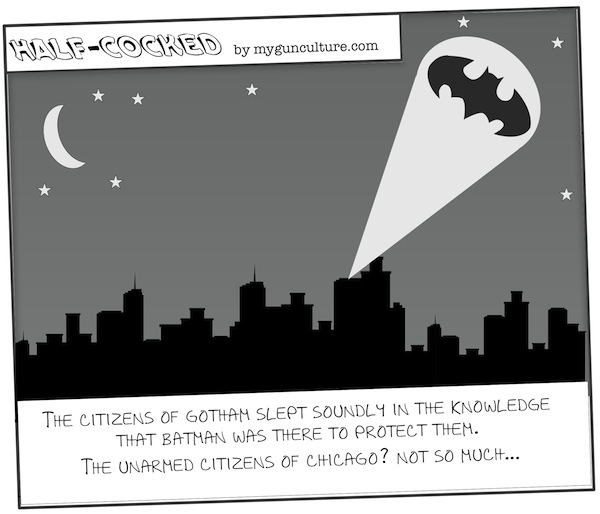 While the citizens of Gotham sleep...
