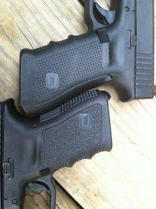 Glock Gen III vs. Gen IV Grip Texture