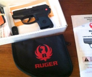 Ruger LCP .380 ACP included - gun case, magazine base plates