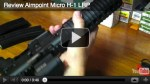 Video Review: Aimpoint Micro-H1 LRP Red Dot Optic