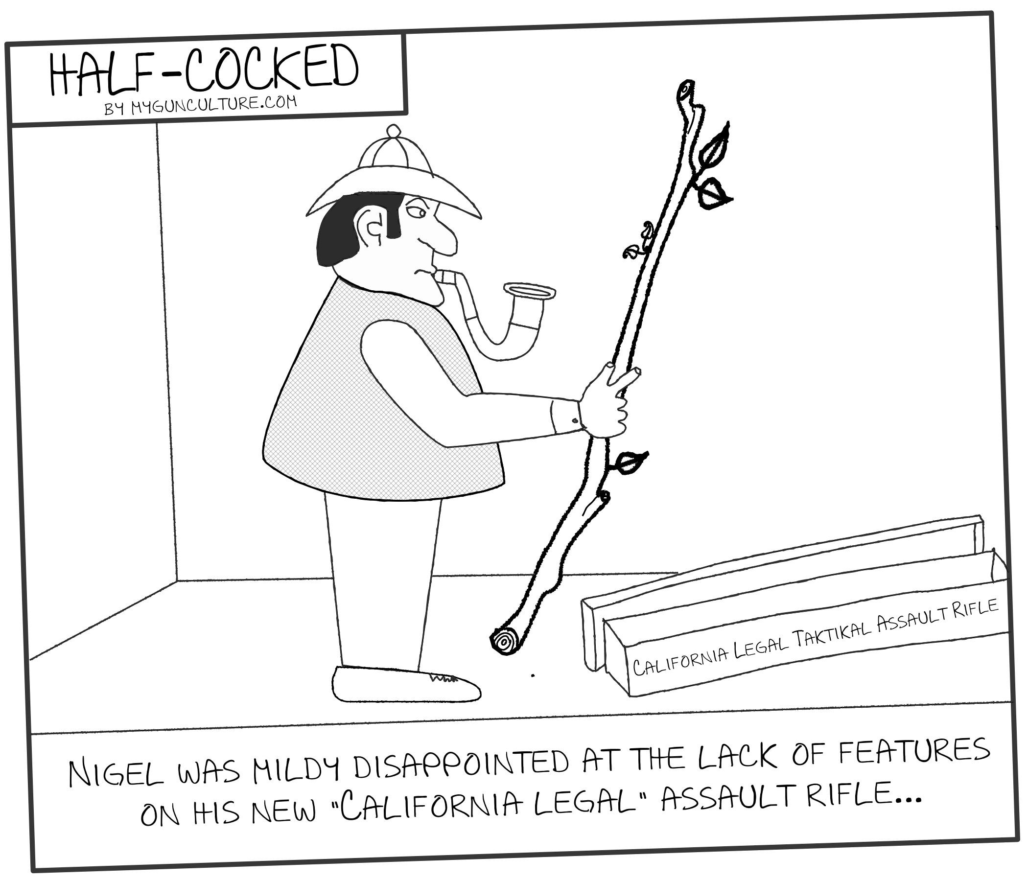Half Cocked California Legal Assault Rifles