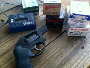 Ruger LCR .357 Magnum ammo and .38 Special ammo