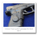 Review: Crimson Trace Lasergrips for Glock Full Size and Compact Gen 3 LG-417