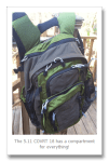 Review: 5.11 Tactical COVRT 18 Backpack