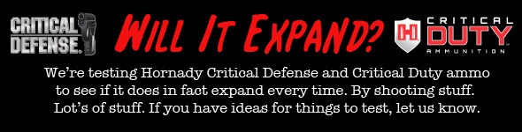 Hornady Critical Defense and Critical Duty Will it expand banner