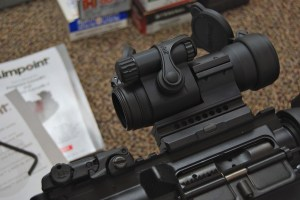 Aimpoint PRO Patrol Rifle Optic Red dot sight cowitness iron sights