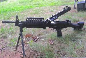 FN M249 Mk 46 machine gun