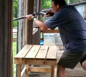 Shooting Industry Masters 2012 Benelli cowboy action shooting