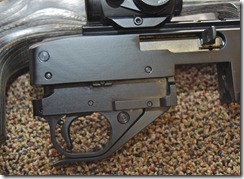 completed force trigger housing installation in ruger 10/22