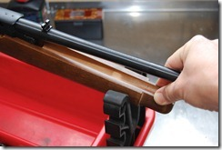 Remove the Ruger 10/22 factory barrel