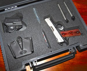 Springfield Armory EMP accessories and case