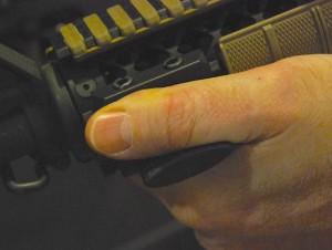 Blackhawk AR Rail Thumb Shelf