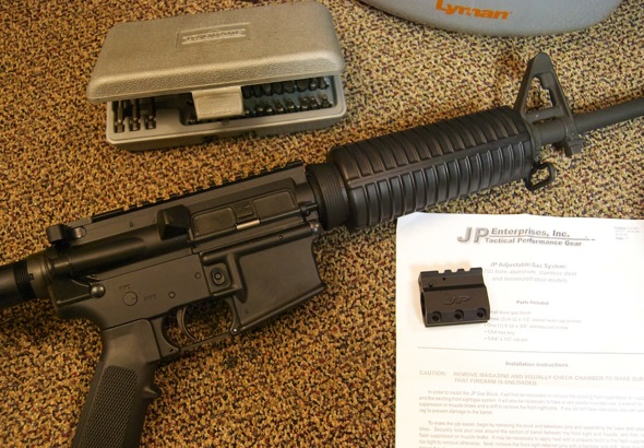 AR 15 JP Gas Block Installation