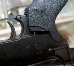Blackhawk! AR-15 Ergonomic Grip installation selector spring