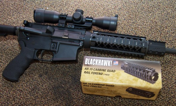 Blackhawk! AR-15 Quad Rail Forend (4)