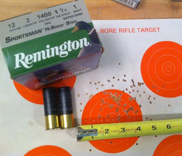 Remington number 1 Shot pattern